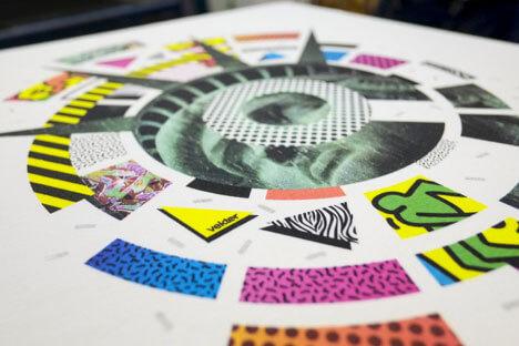 4-color Process Screen Printing - substrates
