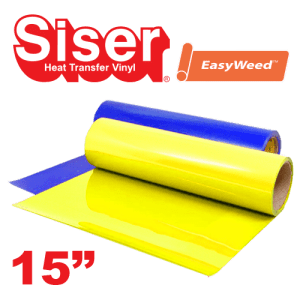 """Siser EasyWeed 15"""" Heat Transfer Vinyl Fluorescent Colors"""