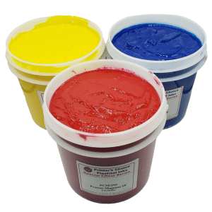 Printers Choice 4 Color Process Plastisol Inks