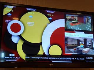 Ineffective content for digital advertising in a hotel