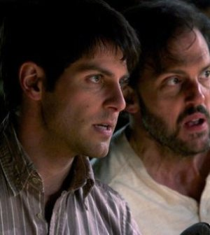 Pictured: (l-r) David Giuntoli as Nick Burkhardt, Silas Weir Mitchell as Monroe — (Photo by: Scott Green/NBC)