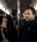 Lucy Liu and Johnny Lee Miller as Watson and Holmes in ELEMENTARY. (Image © CBS)