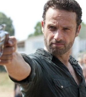 Andrew Lincoln as Rick Grimes. Image © AMC.
