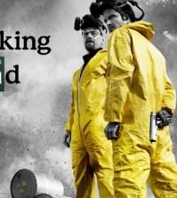 Walter White (Bryan Cranston) and Jesse Pinkman (Aaron Paul) in AMC's Breaking Bad (Image © AMC)