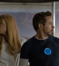 Gwyneth Paltrow as Pepper Potts and Robert Downey Jr. as Tony Stark (Photo © Disney/Marvel)