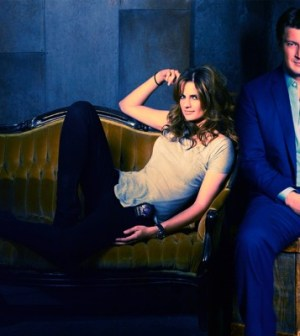 Stana Katic and Nathan Fillion in Castle. Image © ABC Television Network