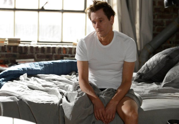 """Ryan Hardy (Kevin Bacon) wakes up after a long night of drinking in the """"Mad Love"""" episode of THE FOLLOWING airing Monday, Feb. 11 (9:00-10:00 PM ET/PT) on FOX. ©2013 Fox Broadcasting Co. CR: David Giesbrecht/FOX"""