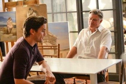 Neal Caffrey (Matt Bomer) and his father James (Treat Williams) (Photo © USA Network)