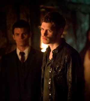 Daniel Gillies and Joseph Morgan in The Vampire Diaries. Image © The CW Network