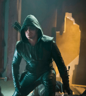 Stephen Amell's Arrow means business