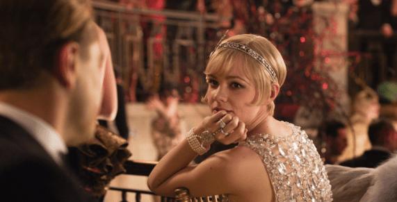Carey Mulligan as Daisy Buchanan. Image: Warner Bros. Picture © 2013 Bazmark Film