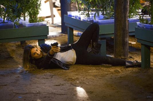 Serinda Swan as Paige Arkin. Image © USA
