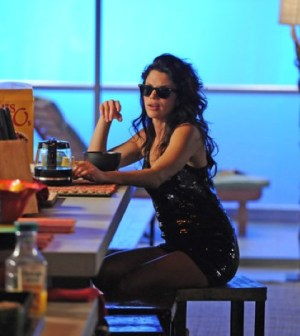 Vanessa Ferlito as Charlie Demarco -- (Photo by: Jeff Daly/USA Network)