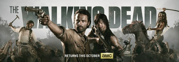 The Walking Dead Comic Con 2013 Banner. Image © AMC