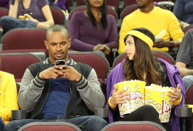 "Cece (Hannah Simone, R) and Coach (Damon Wayans, Jr., L) go out on a date in New Girl's ""Longest Night Ever."" Co.  Cr: Adam Taylor/FOX"