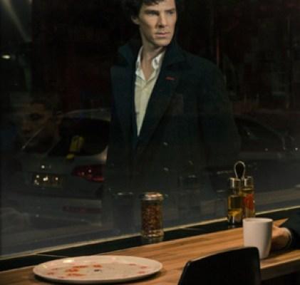 Benedict Cumberbatch as Holmes