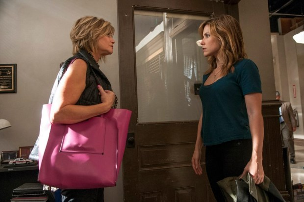 Pictured: (l-r) Markie Post as Bunny, Sophia Bush as Erin Lindsay -- (Photo by: Matt Dinerstein/NBC)