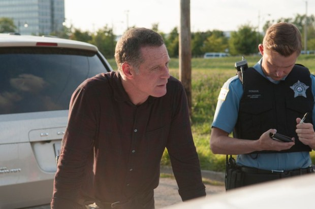 Pictured: Jason Beghe as Hank Voight -- (Photo by: Matt Dinerstein/NBC)