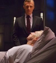Pictured: (L-R) Richard Sammel as Thomas Eichhorst, Jonathan Hyde as Eldritch Palmer -- CR: Michael Gibson/FX..