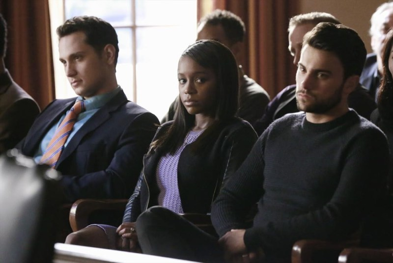 (ABC/Mitchell Haaseth) MATT MCGORRY, AJA NAOMI KING, JACK FALAHEE