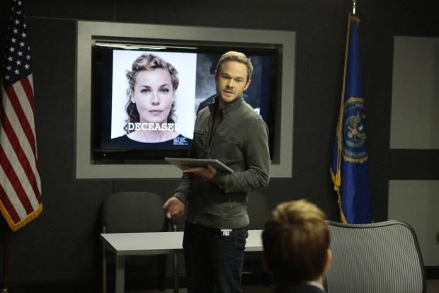 Mike (Shawn Ashmore) updates the FBI team. Co. CR: Giovanni Rufino/FOX