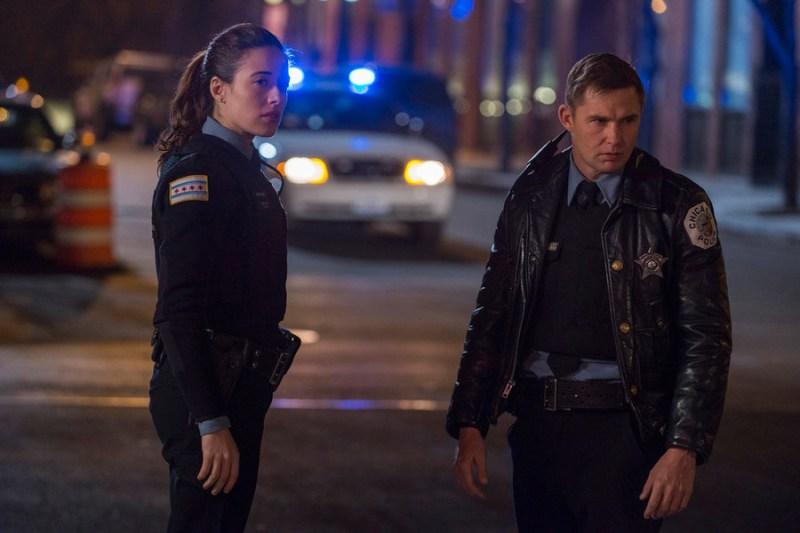 Pictured: (l-r) Marina Squerciati as Kim Burgess, Brian Geraghty as Sean Roman -- (Photo by: Matt Dinerstein/NBC)