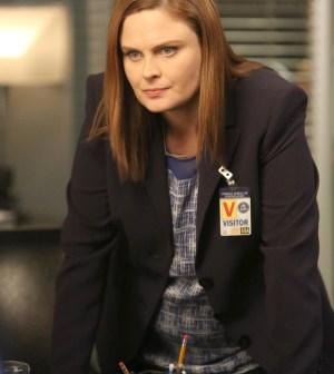 Brennan (Emily Deschanel) | Co.  Cr:  Patrick McElhenney/FOX