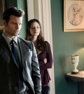 Pictured (L-R) Daniel Gillies as Elijah and Phoebe Tonkin as Hayley -- Photo: Tina Rowden/The CW