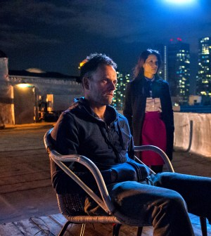 Jonny Lee Miller and Lucy Liu in CBS' Elementary