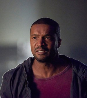 Pictured: Roger Cross as Six -- (Photo by: Russ Martin/Prodigy Pictures/Syfy)