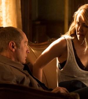 Pictured: (l-r) James Spader as Red Reddington, Megan Boone as Liz Keen -- (Photo by: David Giesbrecht/NBC)