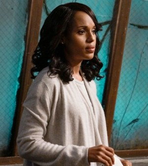 """SCANDAL - """"You Got Served"""" - Olivia knows she can't handle this latest storm on her own and calls for help from an unexpected source. Meanwhile, Mellie and Cyrus continue to pull strings from the sidelines and Jake is still occupied by a ghost from his past, on """"Scandal,"""" THURSDAY, OCTOBER 22 (9:00-10:00 p.m., ET) on the ABC Television Network. (ABC/Michael Desmond) KERRY WASHINGTON"""