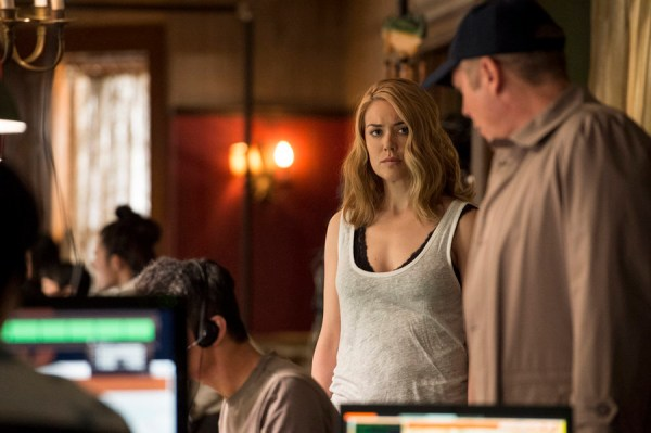 Pictured: (l-r) Megan Boone as Elizabeth Keen, James Spader as Red Reddington -- (Photo by: David Giesbrecht/NBC)