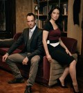 Pictured (L-R) Jonny Lee Miller as Sherlock Holmes and Lucy Liu as  Watson of the CBS series ELEMENTARY. Photo: Justin Stephens/CBS