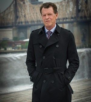 John Noble as Sherlock's father, Morland Holmes Photo: Jeff Neira ©2015 CBS Broadcasting, Inc. All Rights Reserved