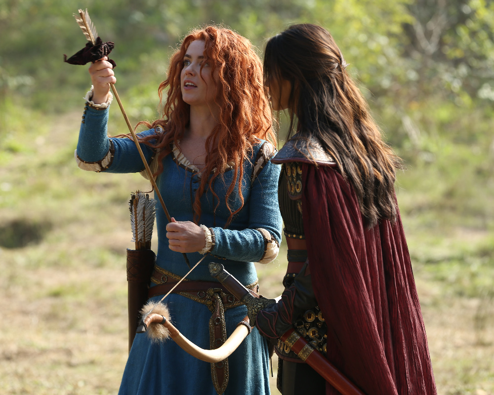 """Amy Manson Once Upon A Time once upon a time 5x09 images: """"the bear king"""""""