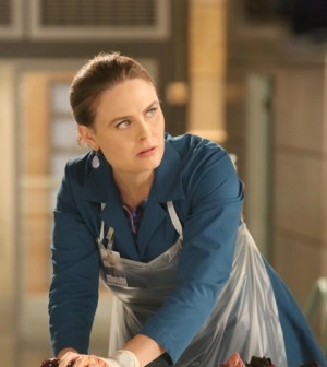 Pictured: Emily Deschanel as Temperance Brennan   Co. Cr:  Patrick McElhenney/FOX