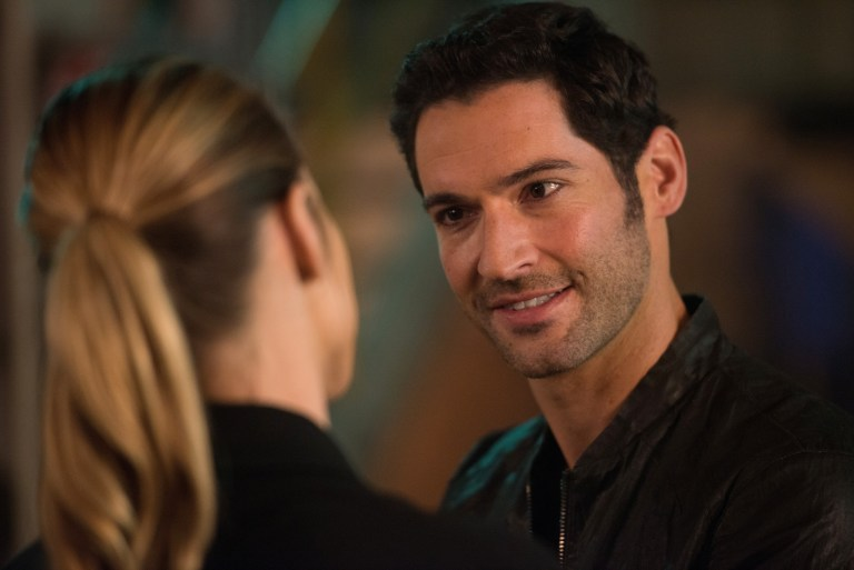 Lucifer: Lauren German and Tom Ellis