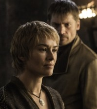 Pictured: Lena Headey as Cersei Lannister and Nikolaj Coster-Waldau as Jaime Lannister Credit: Helen Sloan/HBO