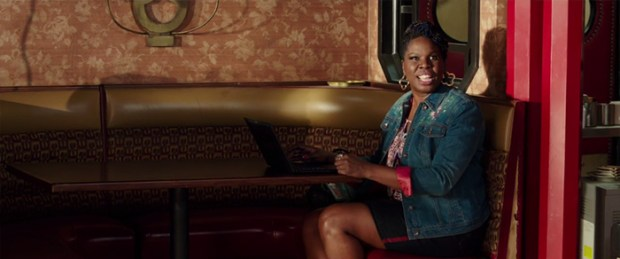 Patty (Leslie Jones) joins the Ghostbusters team.