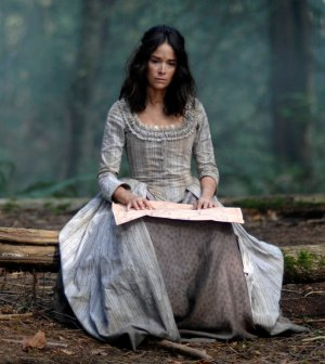 """TIMELESS -- """"Stranded"""" Episode 106 -- Pictured: Abigail Spencer as Lucy Preston -- (Photo by: Sergei Bachlakov/NBC)"""