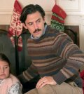 "THIS IS US -- ""Last Christmas"" Episode 110 -- Pictured: (l-r) Mackenzie Hancsicsak as 8 year old Kate, Milo Ventimiglia as Jack -- (Photo by: Ron Batzdorff/NBC)"