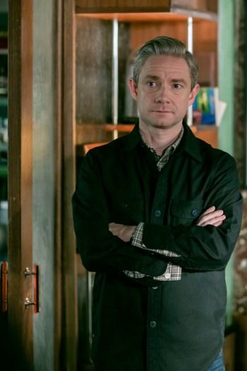 Picture Shows: Dr John Watson (MARTIN FREEMAN) - (C) Hartswood Films - Photographer: Laurence Cendrowicz