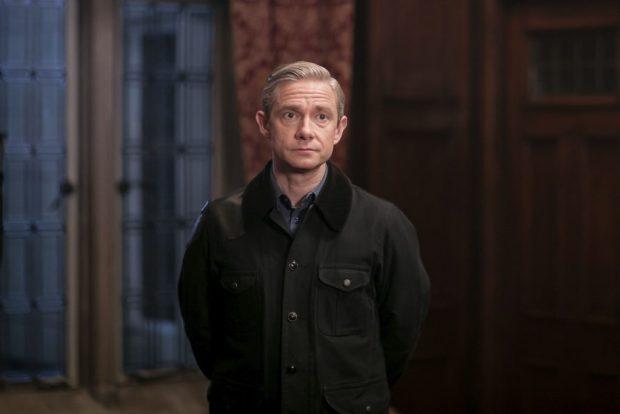 Episode: Sherlock S4 - Ep3 (No. 3) - Picture Shows: Dr John Watson (MARTIN FREEMAN) - (C) Hartswood Films - Photographer: Laurence Cendrowicz