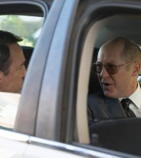 "Pictured: (l-r) Armand Schultz as Marlin Heiden, James Spader as Raymond ""Red"" Reddington -- (Photo by: Virginia Sherwood/NBC)"