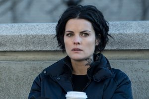 "BLINDSPOT -- ""Evil Did I Dwell, Lewd Did I Live"" Episode 216 -- Pictured: Jaimie Alexander as Jane Doe -- (Photo by: David Giesbrecht/NBC)"