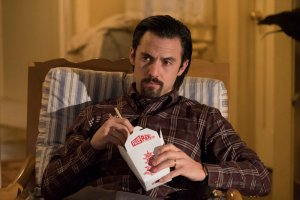 "THIS IS US -- ""What Now?"" Episode 117 -- Pictured: Milo Ventimiglia as Jack -- (Photo by: Justin Lubin/NBC)"