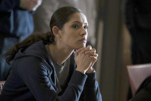 "CHICAGO FIRE -- ""Purgatory"" Episode 514 -- Pictured: Miranda Rae Mayo as Stella Kidd -- (Photo by: Elizabeth Morris/NBC)"