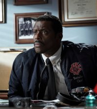 "CHICAGO FIRE -- ""Purgatory"" Episode 514 -- Pictured: Eamonn Walker as Wallace Boden -- (Photo by: Elizabeth Morris/NBC)"