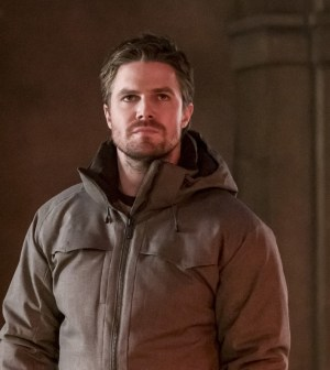 """Arrow -- """"Checkmate"""" --  Pictured: Stephen Amell as Oliver Queen -- Photo: Katie Yu/The CW"""